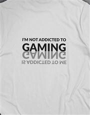 Gamining Addiction Mirror Image Tshirt