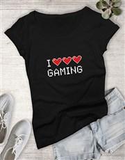 I Heart Gaming Ladies Tshirt