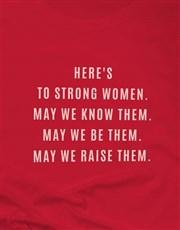 To Strong Women Ladies T-Shirt