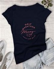 Marathon Mom Ladies T Shirt