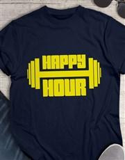 Happy Hour Weight Training T-Shirt