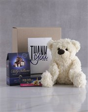 Thank You Teddy and Nougat Gift Hamper