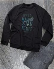 Made Of Star Stuff Ladies Sweatshirt