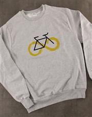 Graphic Infinity Cycle Ladies Sweatshirt