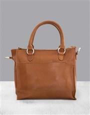 Zemp Bastille Toffee Tan Handbag