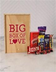 Big Box of Love Chocolate Crate