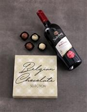Red Wine & Truffle Box