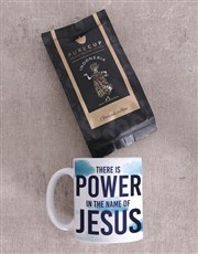 Power In His Name Mug Gift