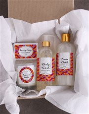 Relax Bath Kraft Gift Set