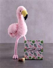 Flamingo And Choc Tray