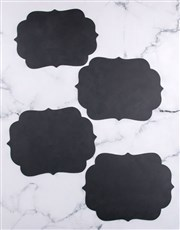 Blank Chalk Board Placemat