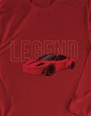 Boss Race Car Long Sleeve T-Shirt