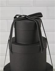 Choco Treat Hat Box Tower