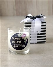 Lord is my Rock Candle