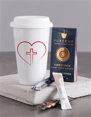 Love Jesus Travel Mug