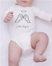 Angel Illustration Onesie