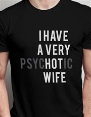 Hot Wife Black Tshirt
