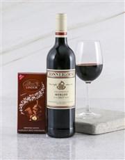 Zonnebloem Merlot Duo Gift Box