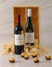 La Motte and Ferrero Rocher Gift Box