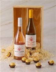 Haute Cabriere and Ferrero Rocher Gift Box