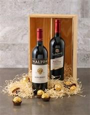 Nederberg and Ferrero Rocher Gift Box