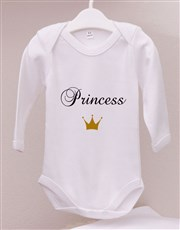 Little Princess Baby Onesie Set
