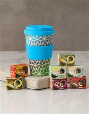Blue Ombre Travel Eco Cup