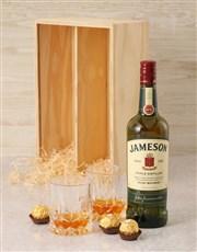 Jameson Irish Whiskey Crate