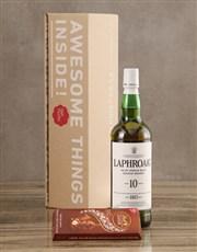 Laphroaig Ten Year Malt Gift Set