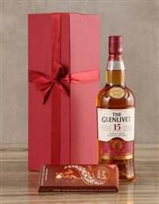 Glenlivet Fifteen Year Scotch Whisky Set