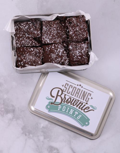 braai-day: Chunky Chocolate Brownies!