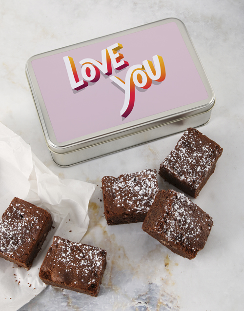 fathers-day: Love You Brownie Tin!