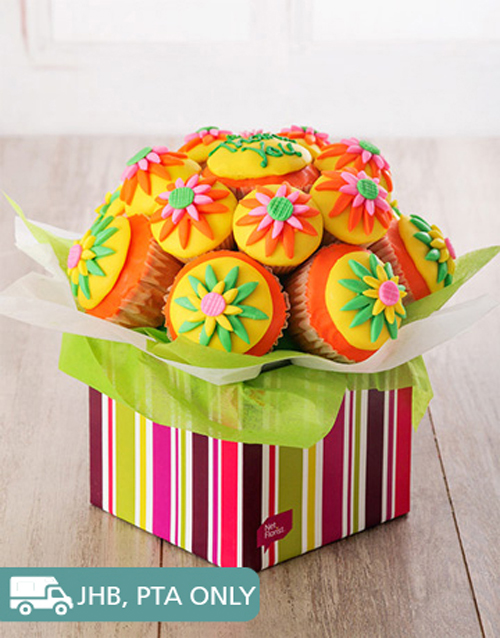 year-end: Thank You Cupcake Bouquet!