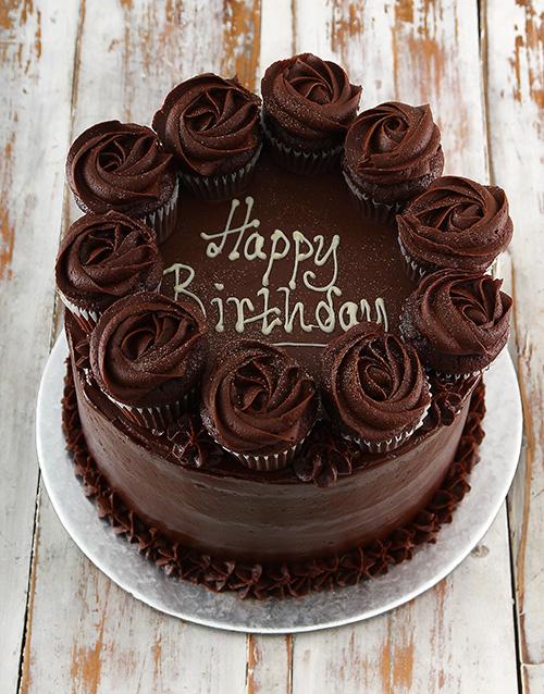 birthday: Chocolate Party Cake!
