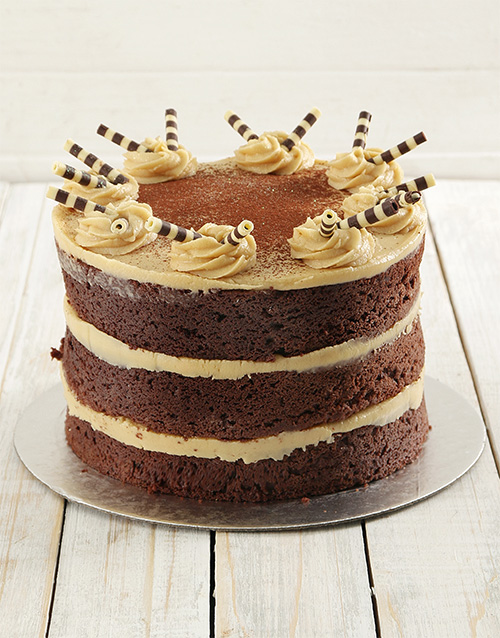 heritage-day: Coffee and Chocolate Naked Cake 20cm!