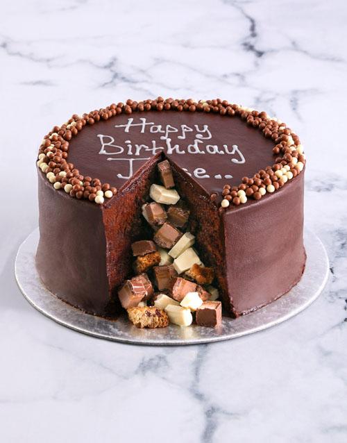 birthday: Chocolate Pinata Cake!
