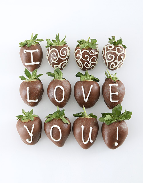 anniversary: I Love you Berries!