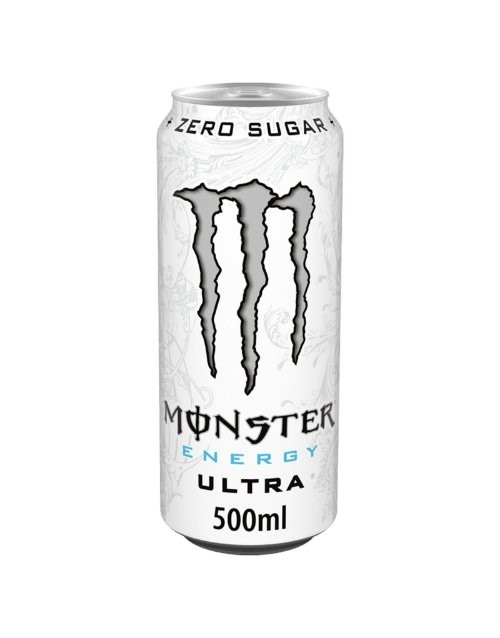 mixers: MONSTER ULTRA ENERGY DRINK 500ML!