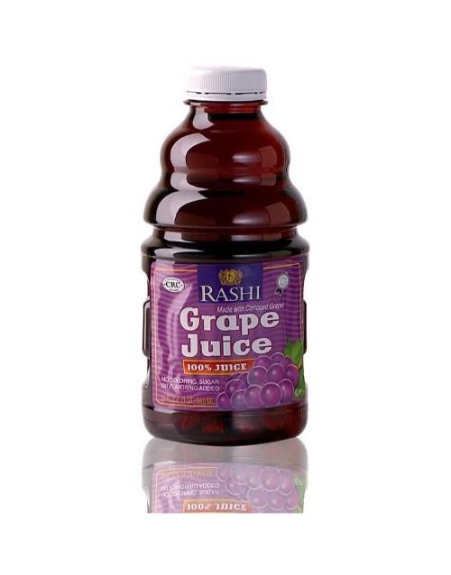 wine: RASHI GRAPE JUICE 946ML X1!