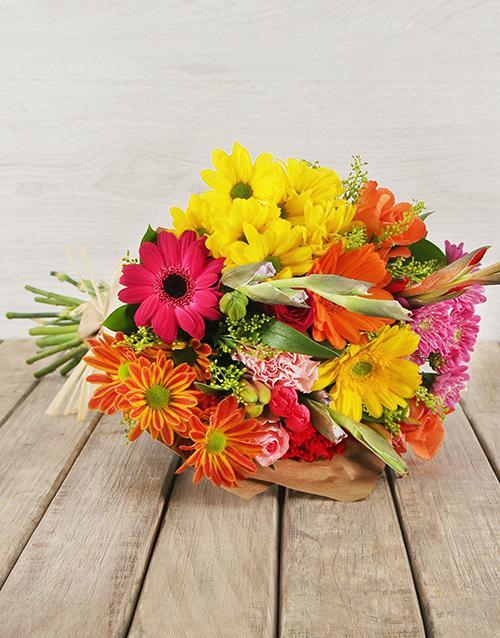 engagement: Vibrant Flower Gift!