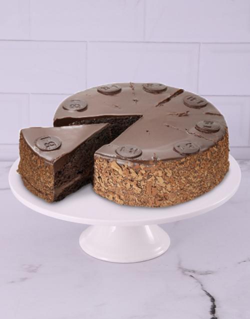 christmas: Chateau Gateaux B1 Chocolate Cake !