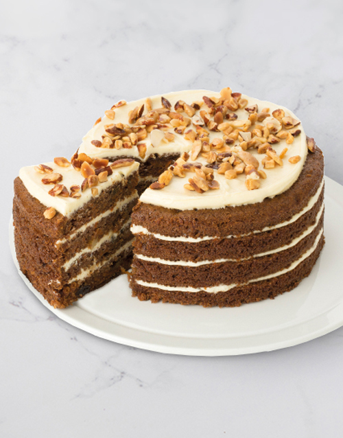 love-and-romance: Chateau Gateaux Swiss Carrot Cake!