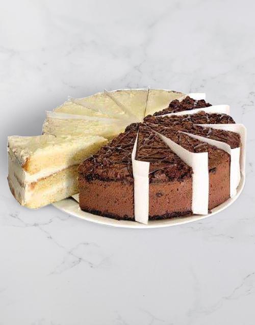 fathers-day: Chateau Gateaux Vanilla and Choc Variety Cake!