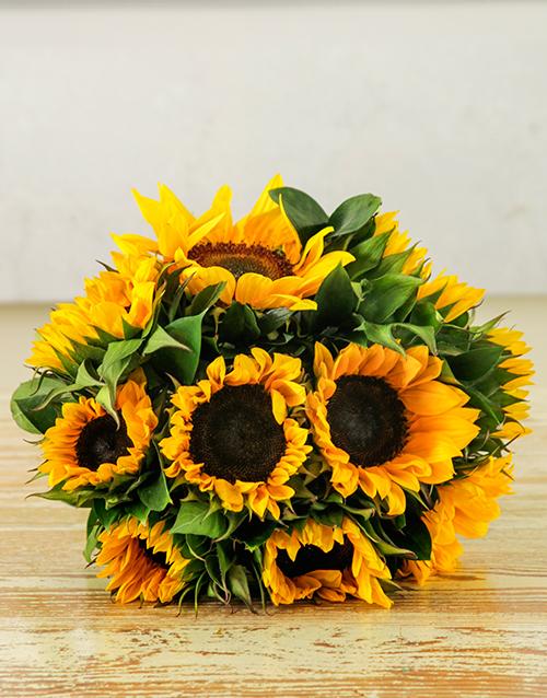 apology: Sunflower Sunrise Bouquet!