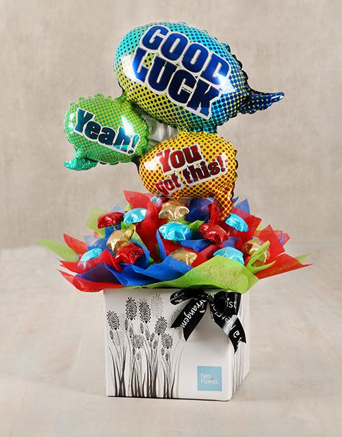 birthday: Good Luck Chocolate Arrangement!