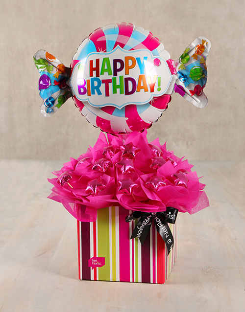 edible-chocolate-arrangements: Sweet Happy Birthday Edible Arrangement!