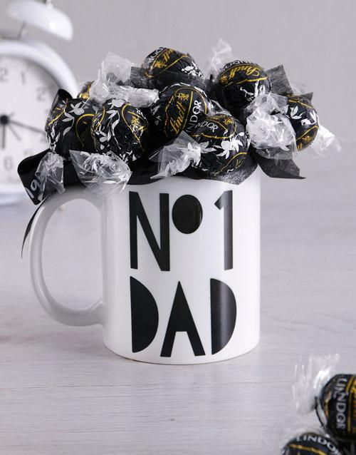edible-arrangments: No1 Dad Arrangement in Mug!