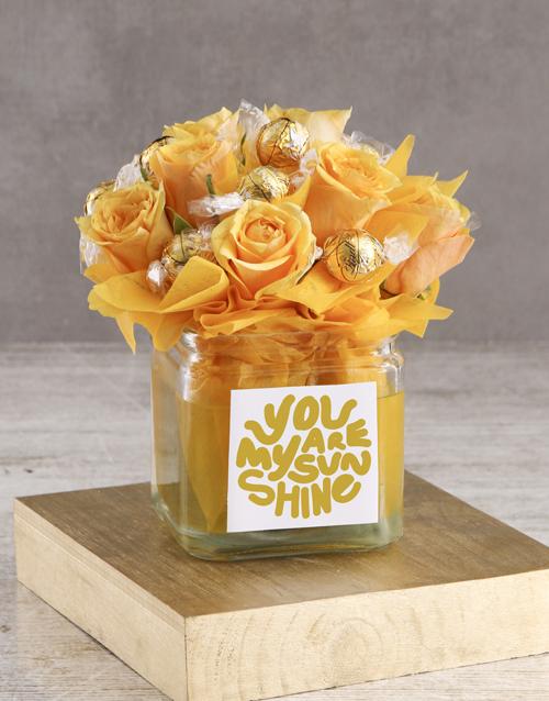 flowers: Edible Arrangement of Sunshine!