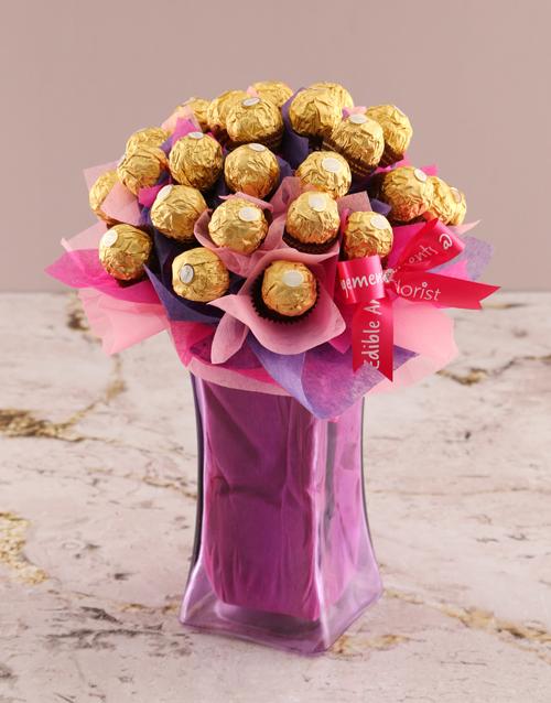 edible-arrangments: Royal Ferrero Rocher Edible Arrangement!