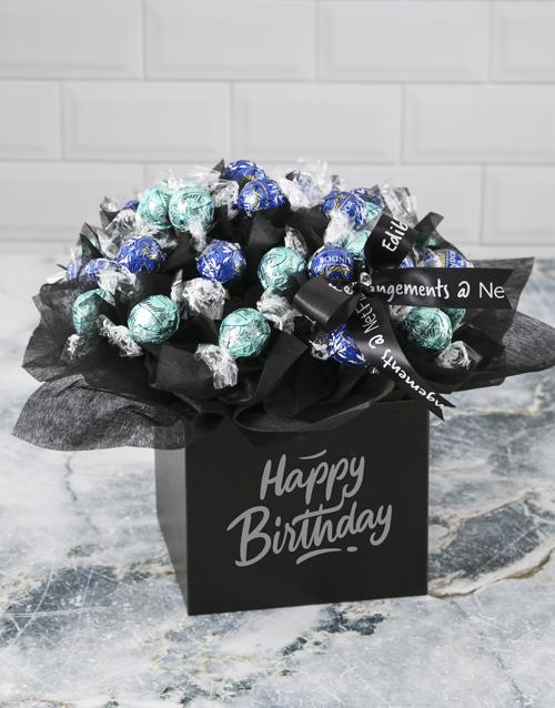 edible-arrangments: Opulent Lindt Truffle Birthday Bouquet!